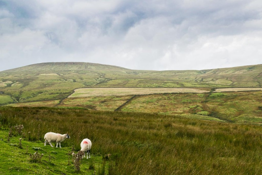 Dead Mans Hill on the left